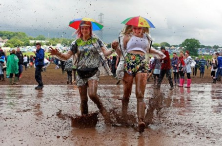 Peace and love? Think AC, brands and working toilets 50 years on from Woodstock