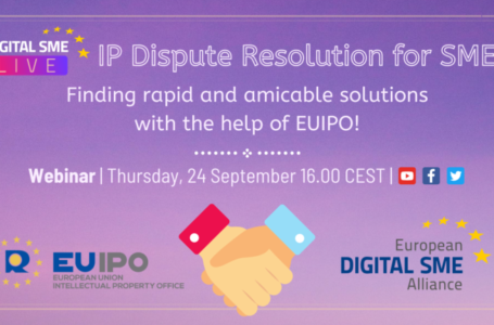 DIGITAL SME Live Webinar with EUIPO